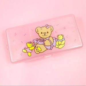 Vintage Sanrio Robearta Pencil Box